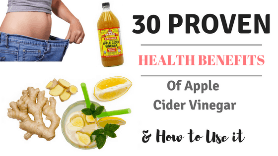 30 PROVEN health benefits of apple cider vinegar & how to use it