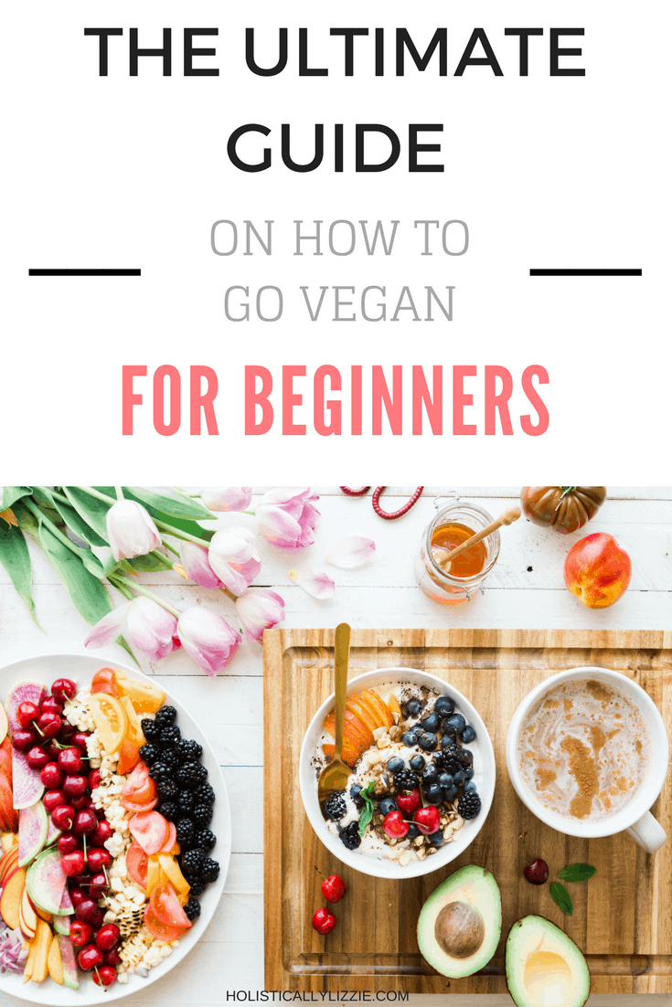 the ultimate guide on how to go vegan for beginners