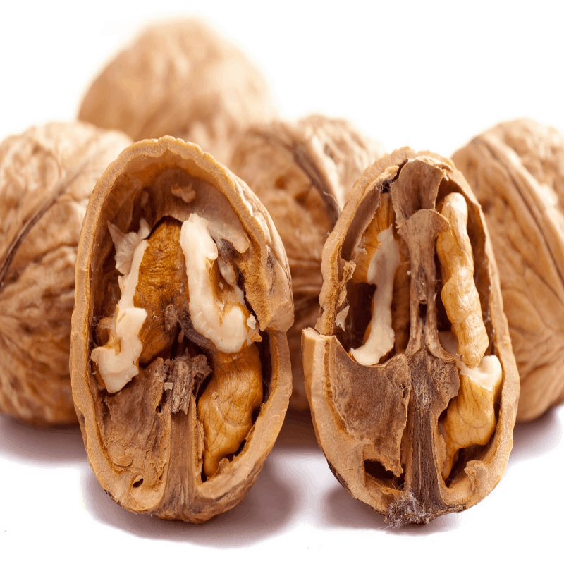 Nuts and seeds rich in omega 3 (flaxseed, chia seed, walnuts)