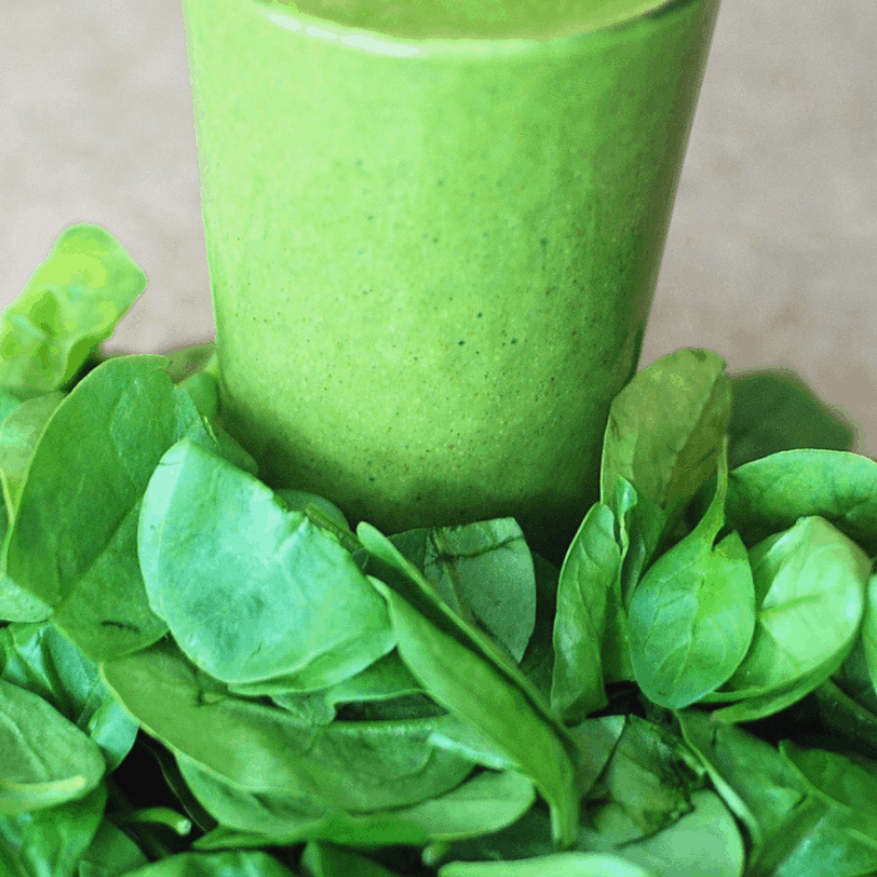 The Yummiest Green Smoothie Ever