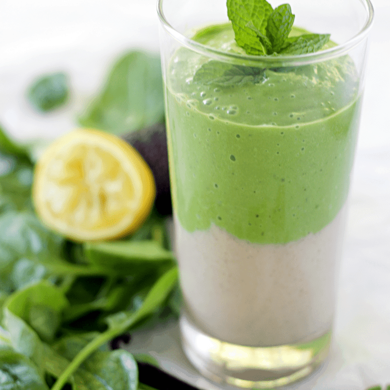 CLASSIC VANILLA GREEN SMOOTHIE