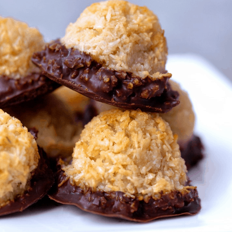 Coconut Macaroons by Chocolate Covered Katie