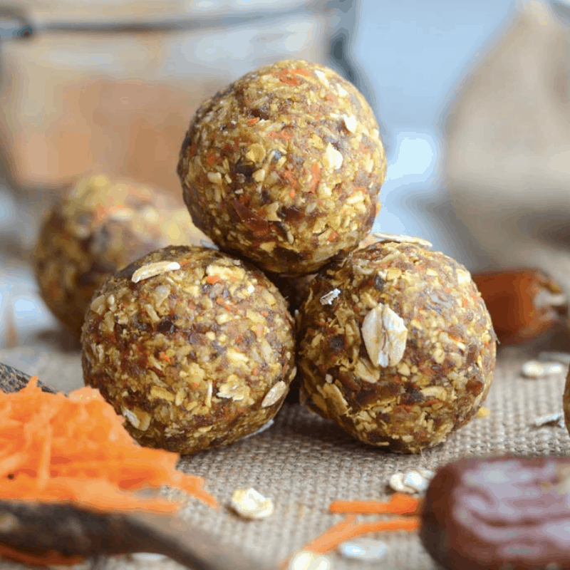 25 HEALTHY & TASTY NO BAKE VEGAN ENERGY BALLS